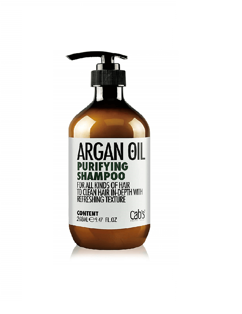 Cab'S Professional Argan Oil Purifying Shampoo (268Ml)