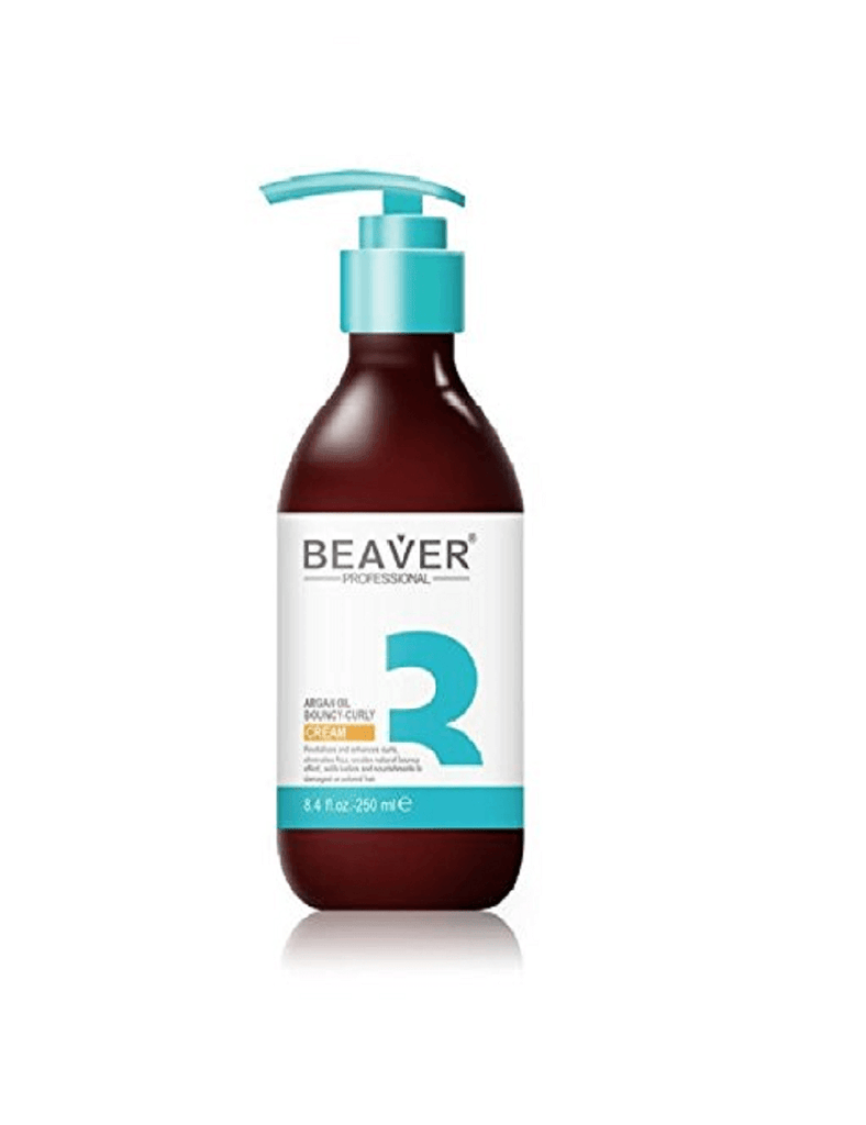 Beaver Professional Argan Oil Bouncy Curl Cream (250Ml)