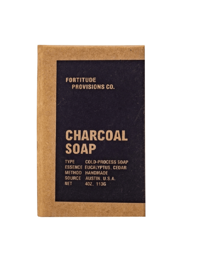 Fortitude Provisions Co. Charcoal Soap (113Gm)