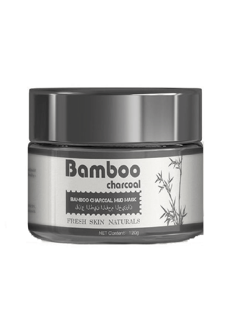 Jishang Bamboo Charcoal Mud Mask (120G)