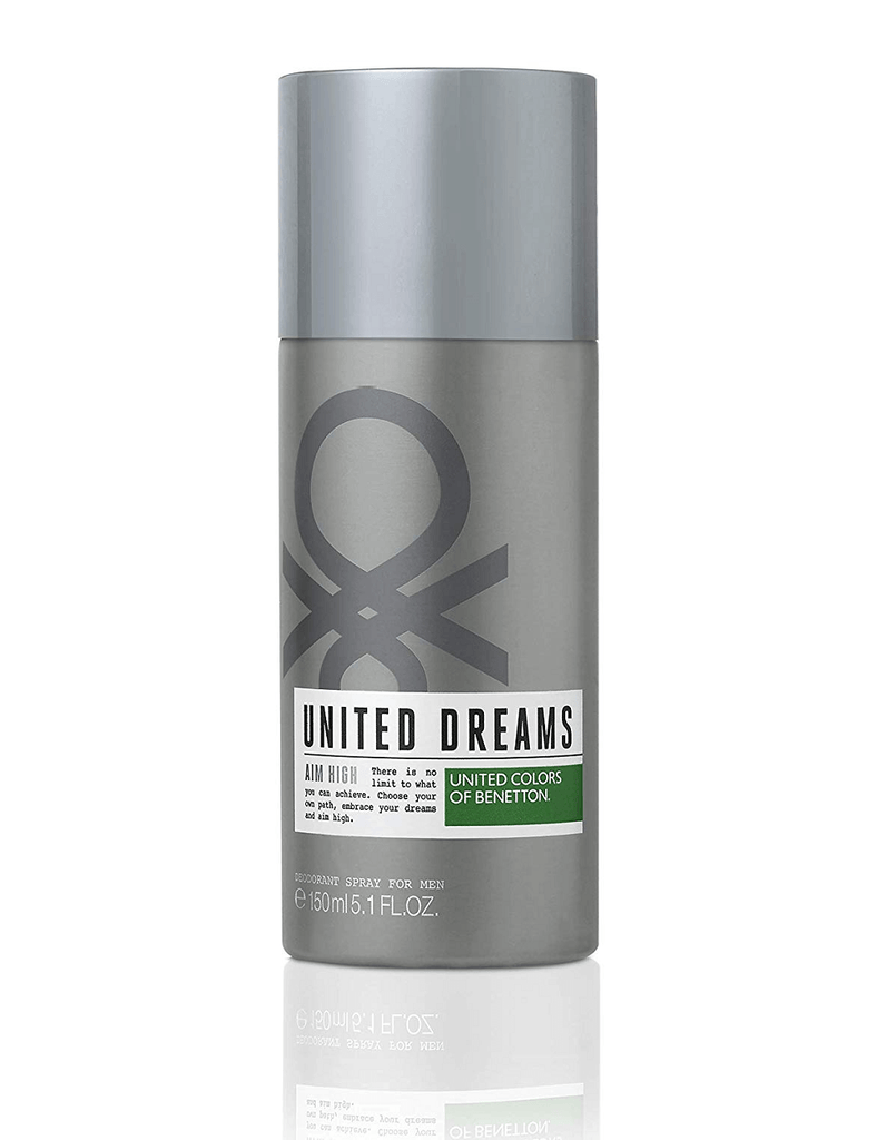 United Colors Of Benetton United Dreams Aim High Deodorant (150Ml)