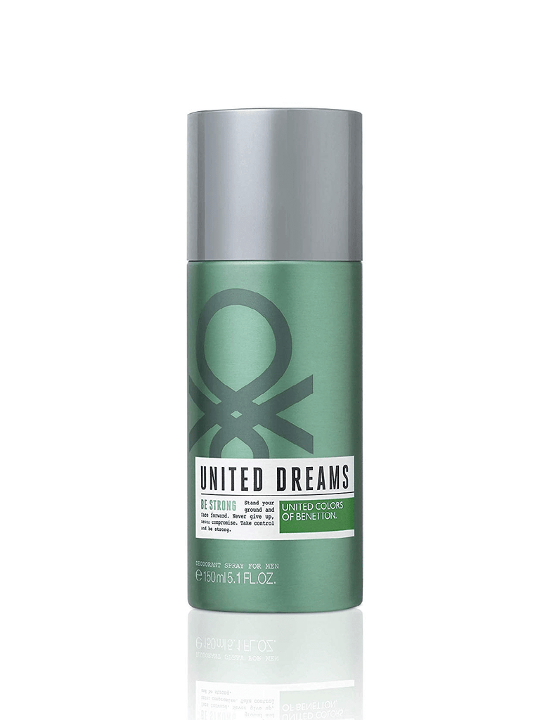 United Colors Of Benetton United Dreams Be Strong Deodorant For Men (150Ml)