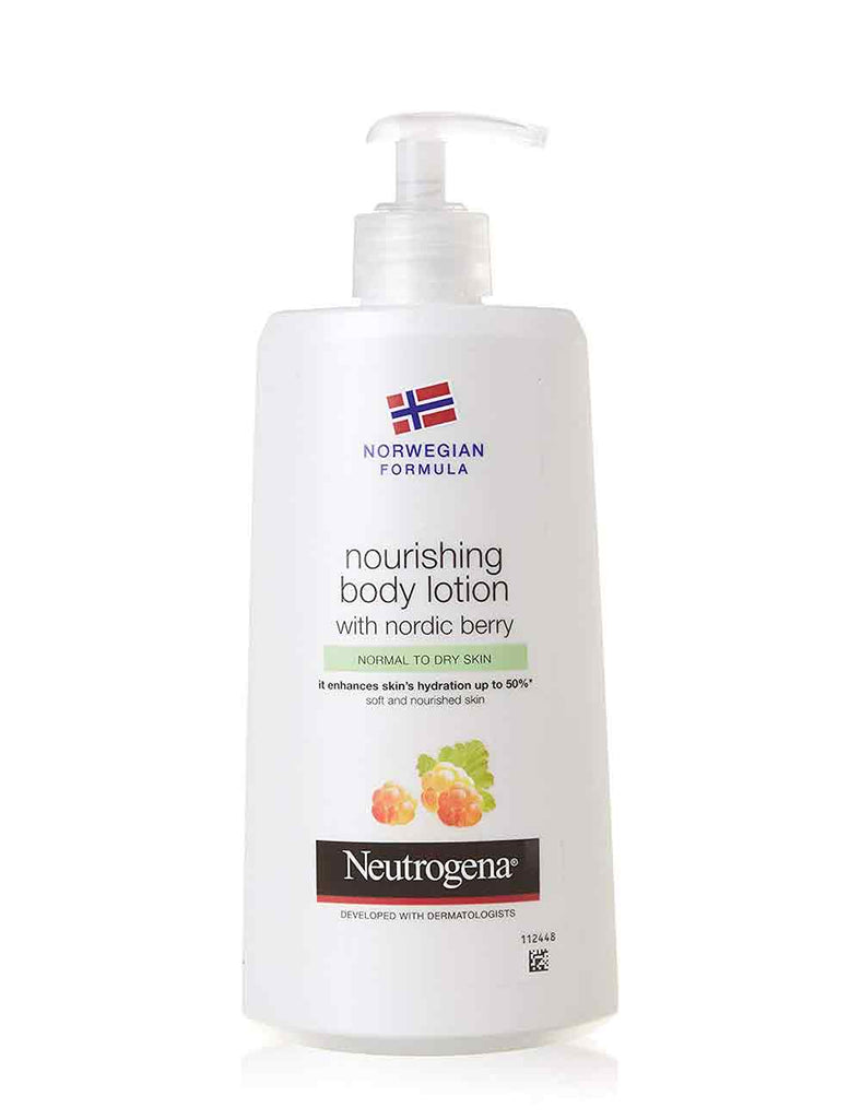 Neutrogena Nourishing Body Lotion With Nordic Berry Normal To Dry Skin (400Ml)