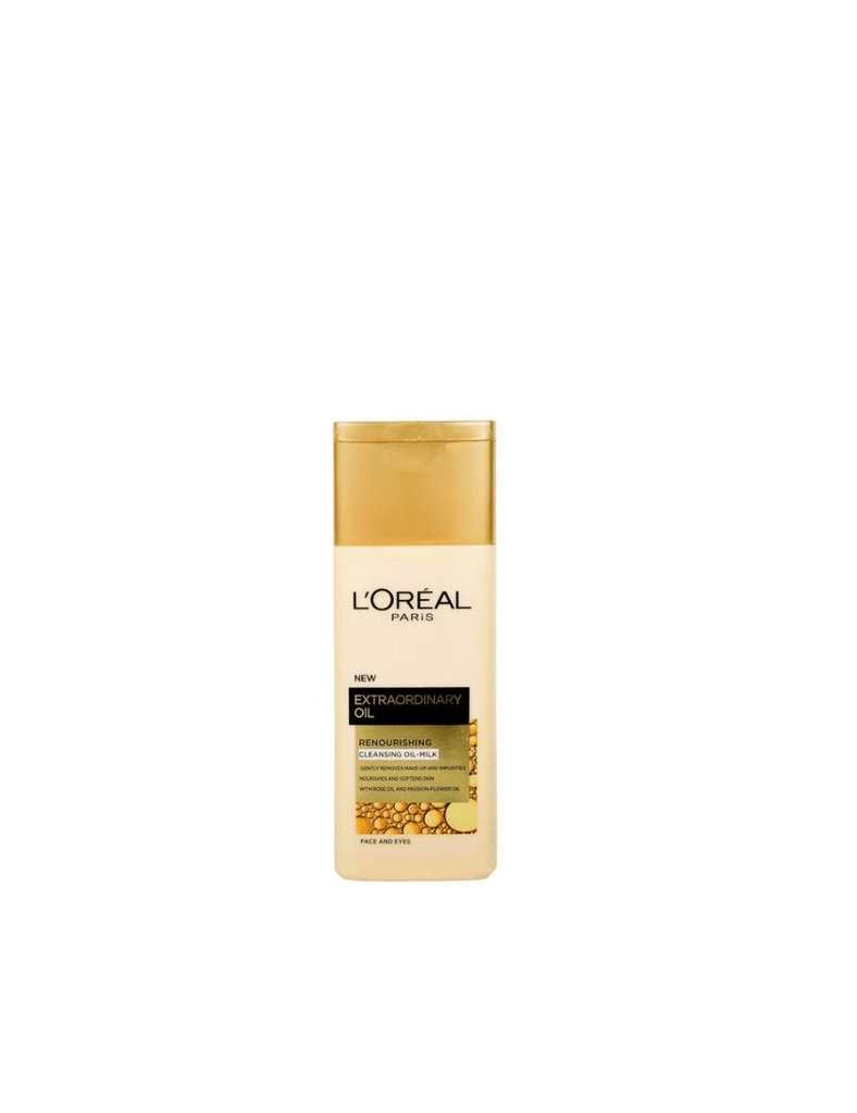Loreal Extraordinary Renourishing Cleansing Milk (200Ml)