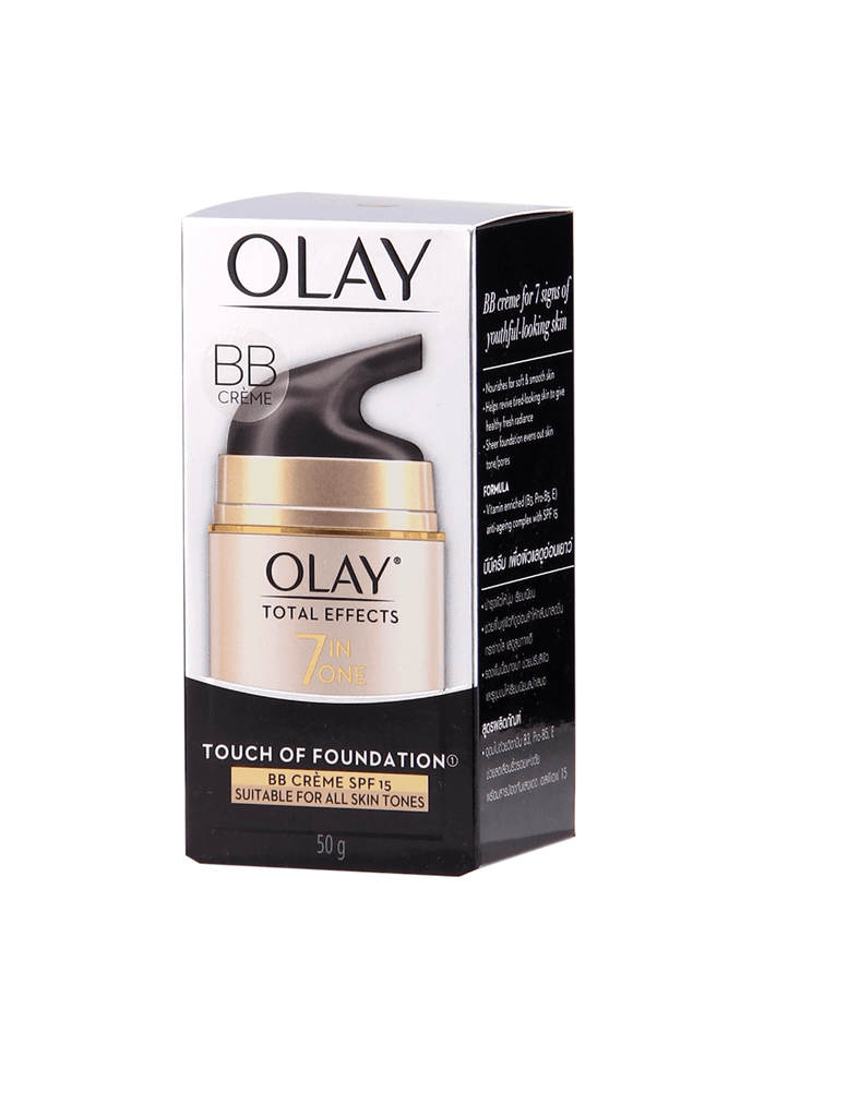 Olay Total Effects 7-In-1 Touch Of Foundation Bb Creme Spf15 (50G)