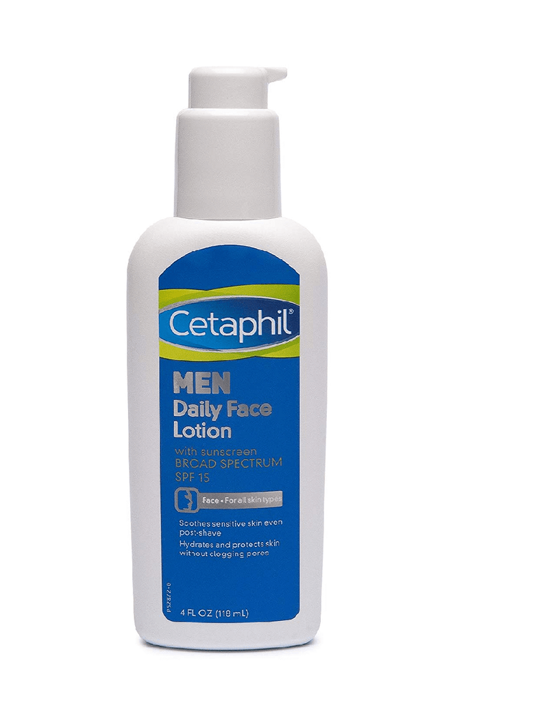 Cetaphil Men Daily Face Lotion With Spf 15 (118Ml)