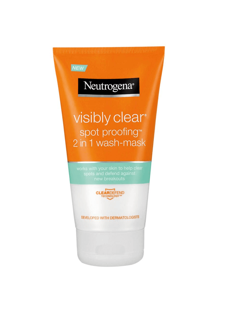 Neutrogena Visibly Clear Spot Proofing 2 In1 Wash Mask (150Ml)