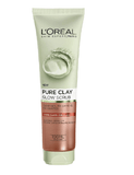 Loreal Paris Pure Clay Glow Scrub Exfoliating Face Wash (150Ml)