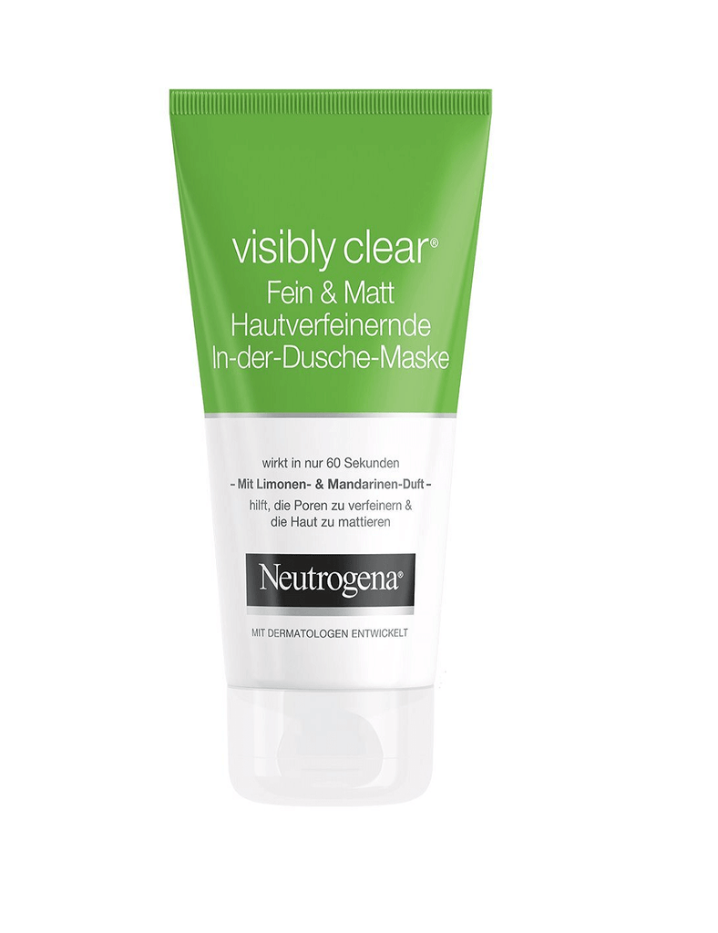 Neutrogena Visibly Clear Fein & Matt Hautverfeinernde In-Dusch-Maske (150Ml)