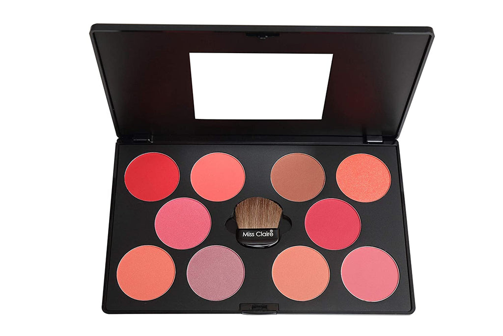 Miss Claire Professional Blusher Palette - 3