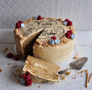 Apple spiced celebration cake