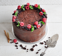Load image into Gallery viewer, Vegan Chocolate Mousse Cake