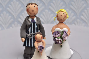 bespoke / custom made cake toppers by Gosh Patisserie