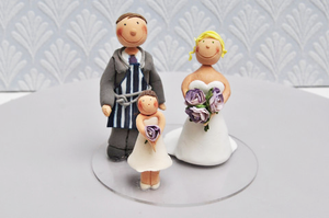 bespoke / customer made cake toppers
