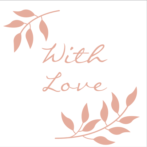With Love by Faysie Boo Studio