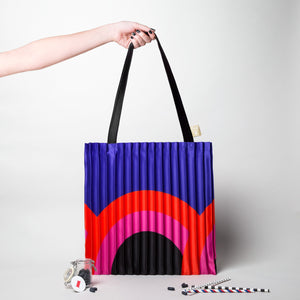 Borsa Plissettata Rainbow Write Sketch &