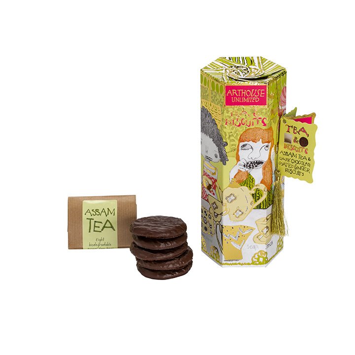 Tea & Biscuits - Assam & biscotti cioccolato e zenzero