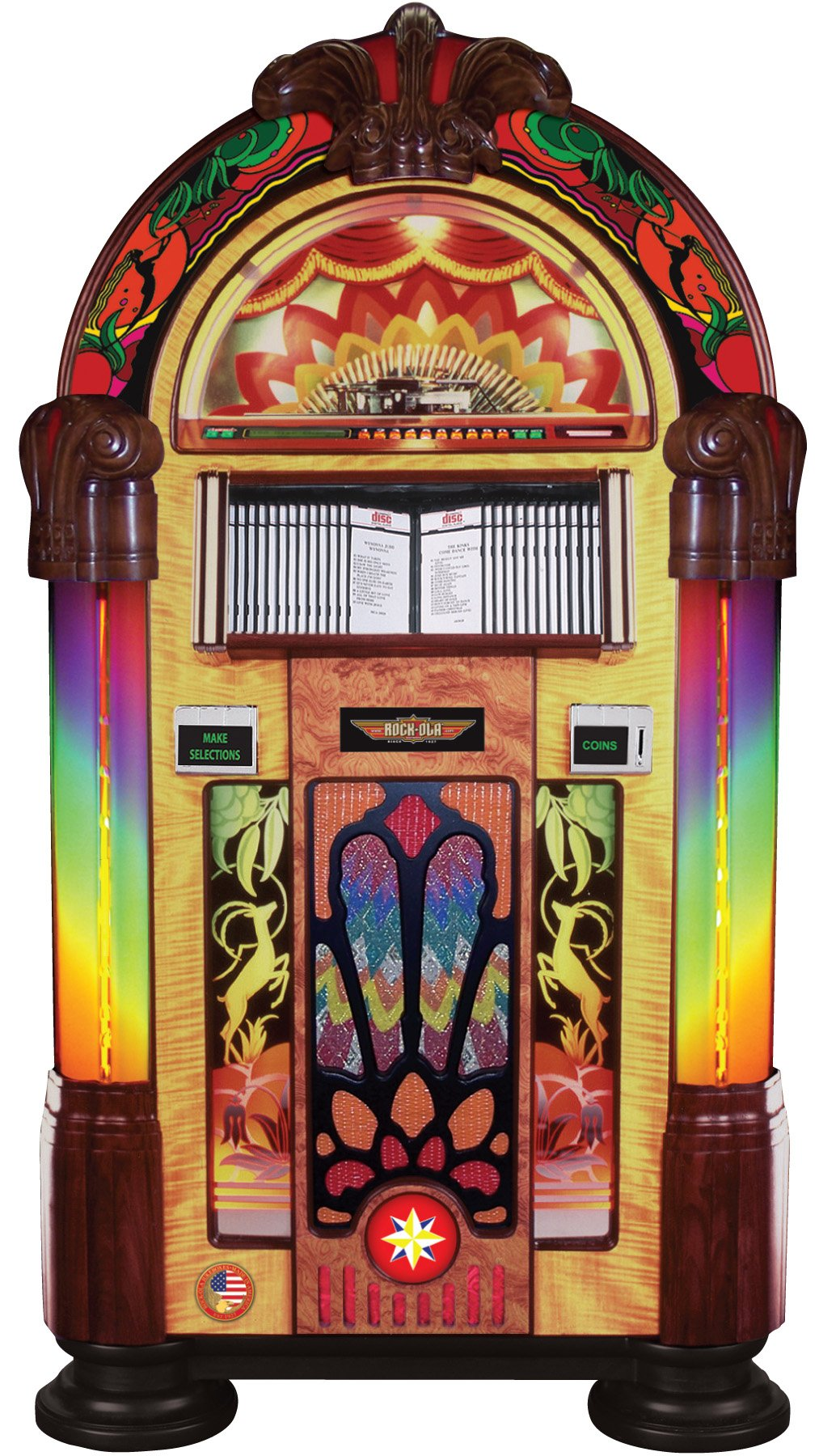 Rock-Ola Bubbler Gazelle CD Jukebox