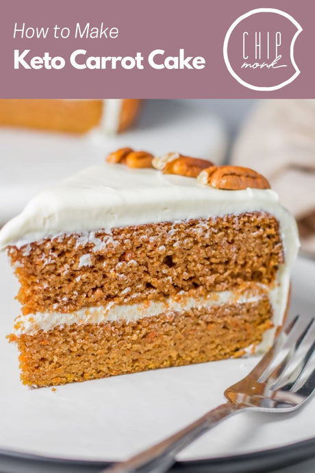 How to Make the Perfect Low-Carb, Keto Carrot Cake