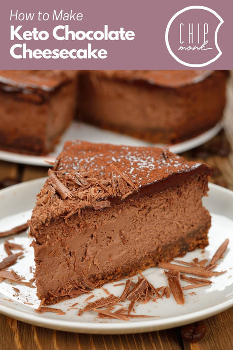 How to Make the Perfect Low Carb, Keto, Gluten-Free Chocolate CheeseCake