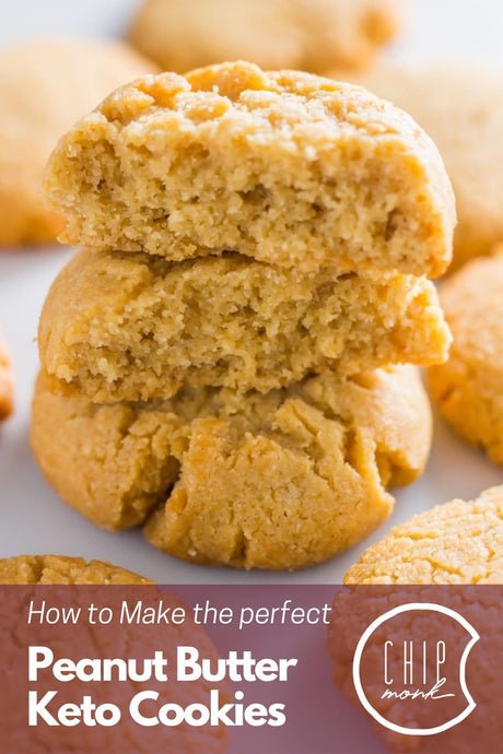 How to Make the Perfect Low Carb, Keto Peanut Butter Cookie (Recipe)