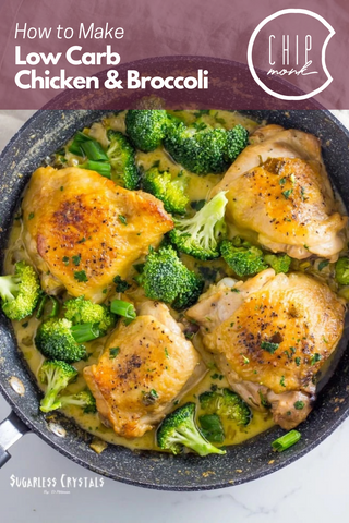 Low Carb Keto Chicken and Broccoli Recipe