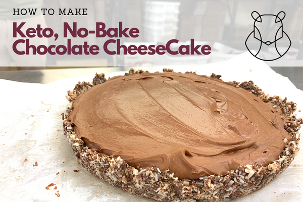 Keto No Bake Chocolate Cheesecake Recipe