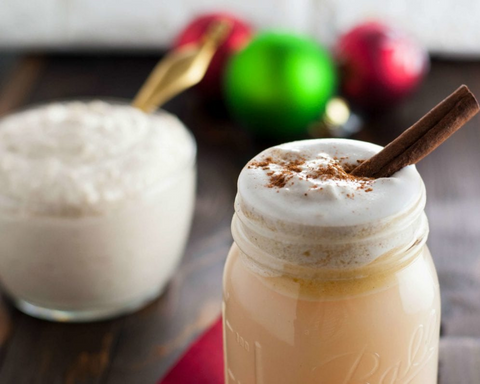 Fall Keto Cocktail Hot Buttered Rum