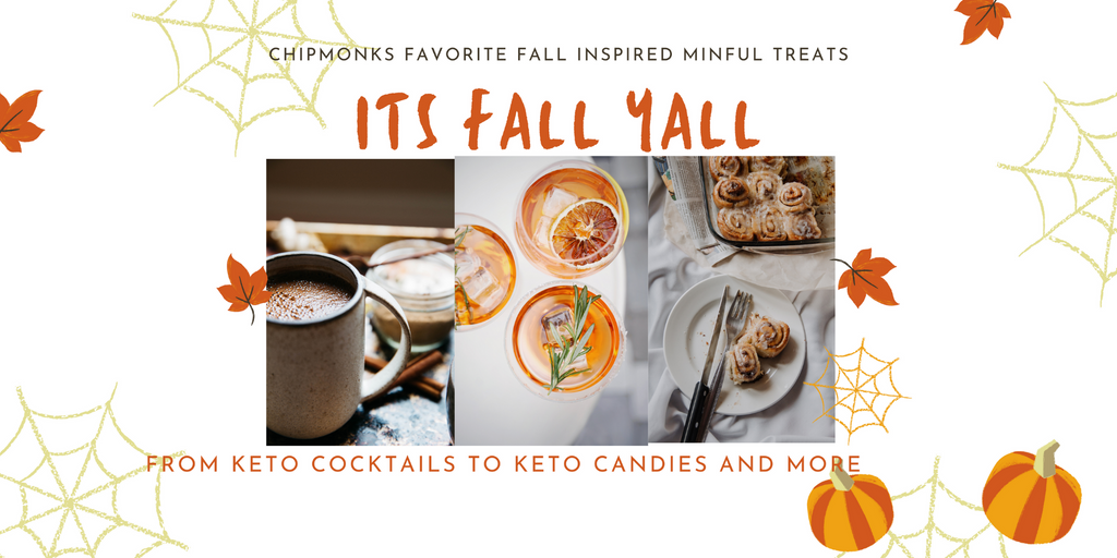 Fall Themed Keto Candies Cocktails and Desserts