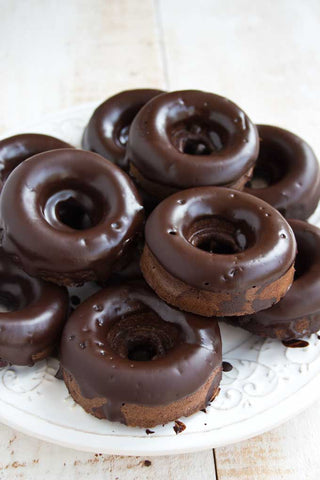 How to make keto chocolate donuts