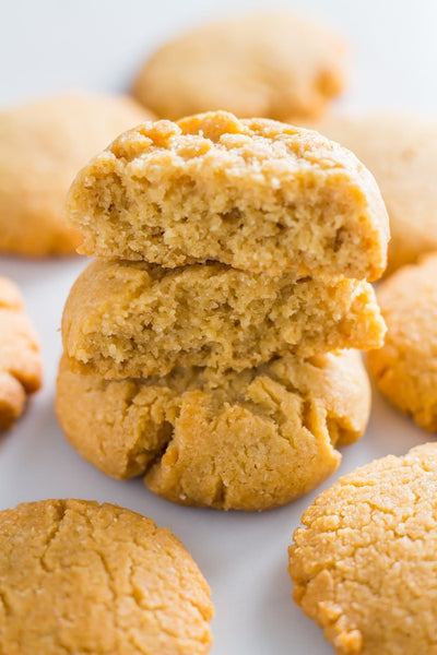 Low carb keto peanut butter cookie recipe