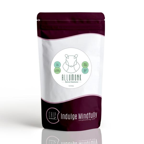 ChipMonk's Allumonk sugar replacement made from a blend of Allulose and Monk Fruit
