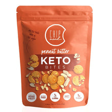 Load image into Gallery viewer, ChipMonk Keto Cookie Bites bite CM Baking Peanut Butter 1 Pouch (8 Bites)