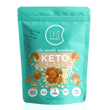 Load image into Gallery viewer, ChipMonk Keto Cookie Bites bite CM Baking White Chocolate Macadamia 1 Pouch (8 Bites)