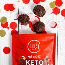 Load image into Gallery viewer, Red Velvet Keto Cookie Bites