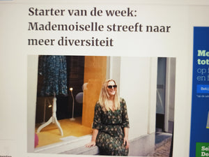 Yay! In de pers als starter van de week!