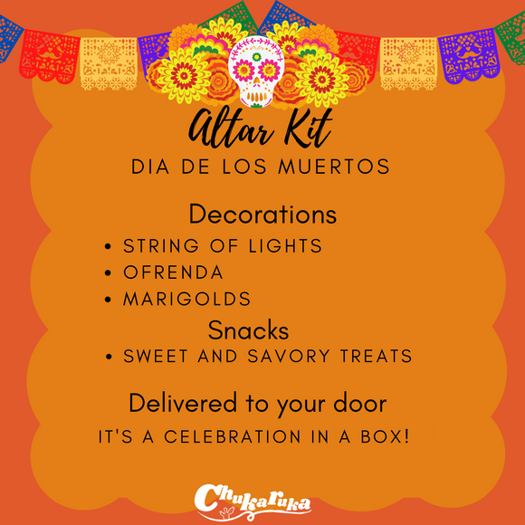 Dia De los Muertos  / Day of the Dead Altar  (Gift box / Virtual party)