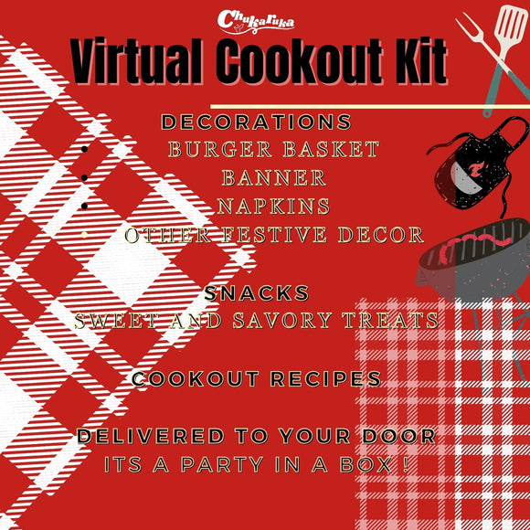 Virtual Cookout Kit