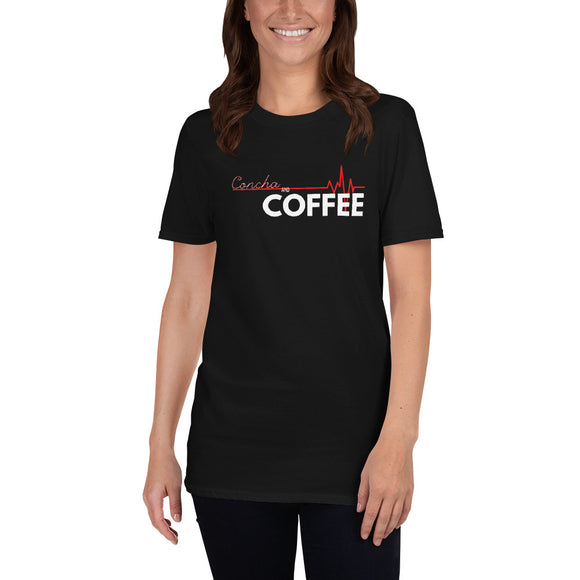 Concha and Coffee Short-Sleeve Unisex T-Shirt