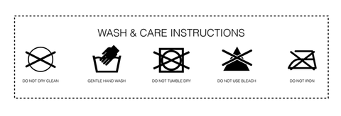 Misfitmasks care instructions
