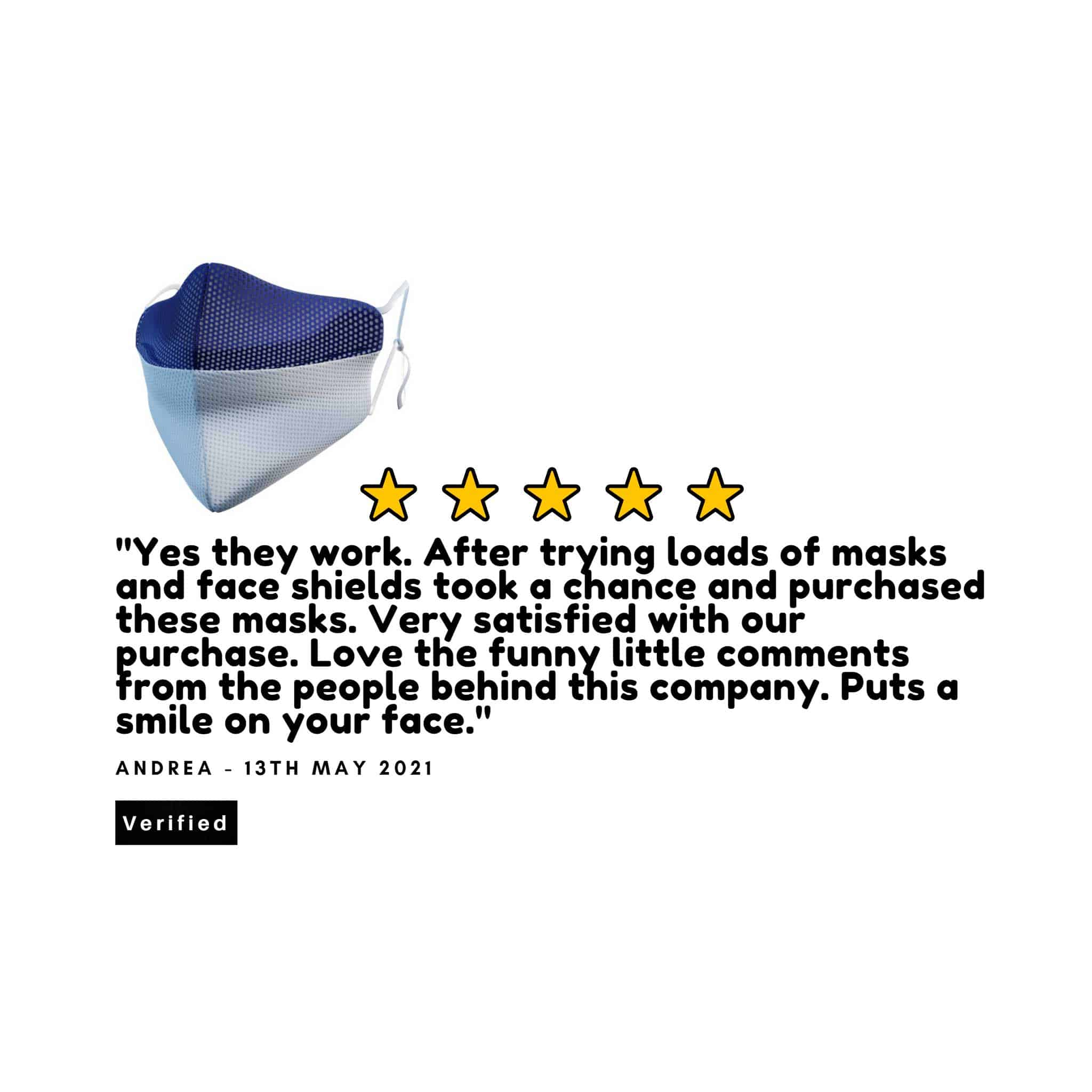 MisfitMask - the facemask that wont steam up your glasses., Protective Masks - Image 14