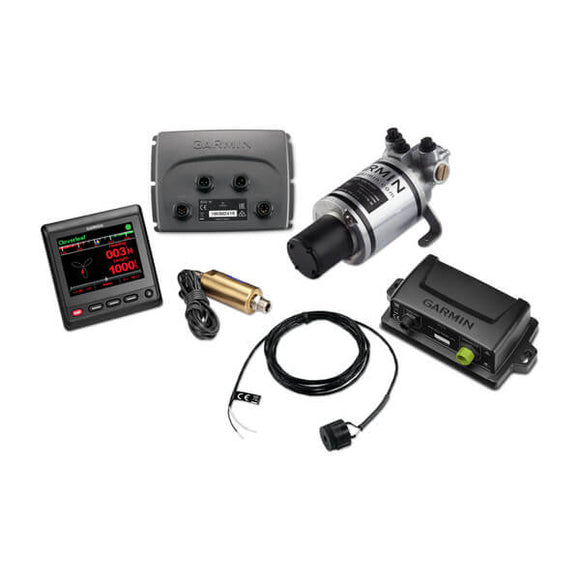Garmin Compact Reactor 40 Hydraulic Autopilot with GHC 20 and Shadow Drive Pack