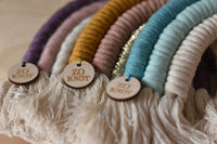 Macrame Rainbow Charms