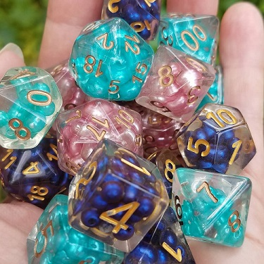 Dice, Bags & Trays