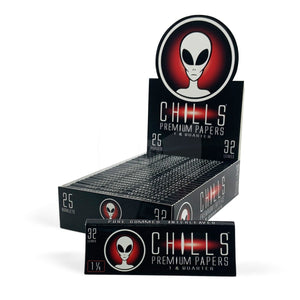Chills Alien 1 1/4 Rolling Papers - Beyond Smoke