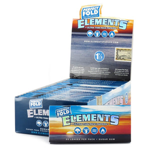 Elements Perfect Fold 1 1/4 Rolling Papers - Beyond Smoke
