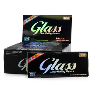 Luxe Glass Cellulose King Size Rolling Papers - Beyond Smoke