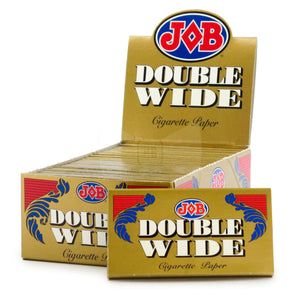 JOB Double Wide Gold Rolling Papers - Beyond Smoke