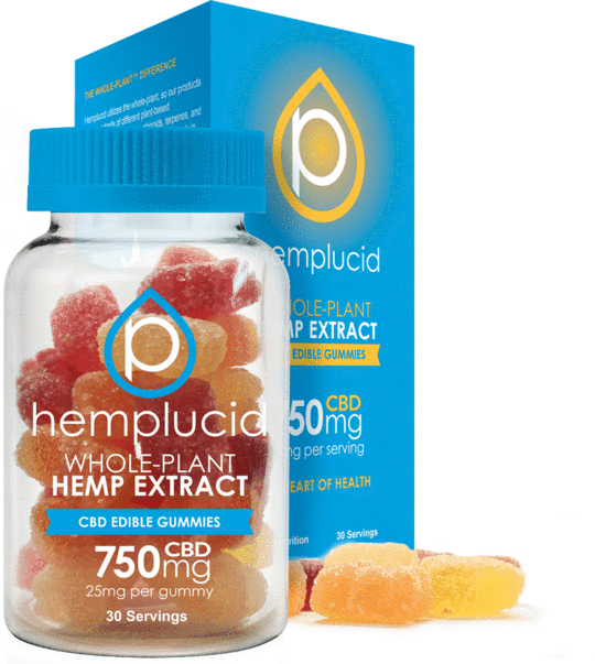 Hemplucid Full-Spectrum CBD Edible Gummies