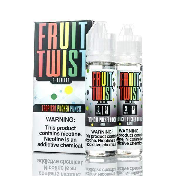 Fruit Twist E-Liquids - Tropical Pucker Punch - 120ml All Flavor In stock - Beyond Smoke